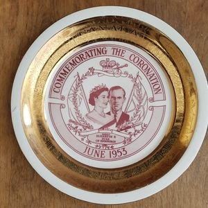 1953 Coronation plate
